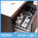 Unidades modernas de venda quentes do banheiro com vaidade da gaveta e do lado da forma de U (BF371D)