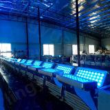 Stadt-Farben-Licht der Stadiums-Beleuchtung-72PCS 12W RGBW 4in1 LED