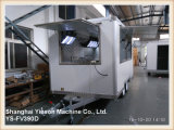 Helado del carro del alimento de la alta calidad de Ys-Fv390d Van Yieson