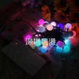 Шарика USB освещения 5m50LED новизны свет напольного привесной декоративный Fairy