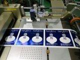 熱い押すラベル型抜き機械の位置