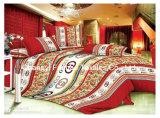 중국 Suppiler 가정 직물 여왕 또는 임금 또는 충분히 또는 쌍둥이 크기 다채로운 침구 세트