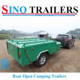 van het Kamperen van de Weg Aanhangwagens met Tent