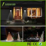 Iluminación al aire libre impermeable de la pared de la luz 20LED de movimiento de la luz solar del sensor para el jardín, patio