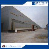 Entrepôt préfabriqué de structure métallique avec le modèle et les retraits