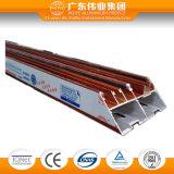 Профили деревянного зерна передачи тепла алюминиевые для Window&Doors с Ce/TUV 6063 T-5