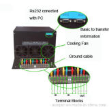 40AMP 380VAC automatischer Übergangsschalter der Dreiphasenzahnstangen-3p für Stromversorgung