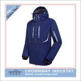 Куртка лыжи зимы Outdoorwear людей с отражательным печатание