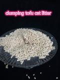 Tofu de Draagstoel van de Kat met het Samendoen en Geduwd in Toliet