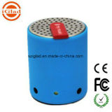 Hands Free Drum Shape Stereo Bass Blue Tooth Speaker