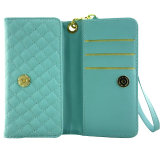 Casos de couro PU Leather para iPhone 6 / 6s / 6p / 7 / 7s / 7p Lady Wallet