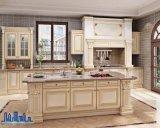 モジュラー純木のカスタマイズされた台所