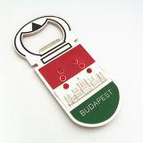 Andenken kundenspezifischer Geschenk-Budapest-Kühlraum-Magnet mit Flaschen-Öffner (F5042)