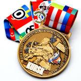 2017 중국 새해 동안 주문을 받아서 만들어진 수탉 금속 메달
