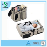 3 in 1 Baby-Windel-Beutel-Bett-Windel-Kind tragen Feldbett-bewegliches Änderungs-Tisch Portacrib Jungen-Mädchen-Bestes