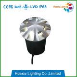 12V Ss304/316 LEDの地下ライトをつける8方向