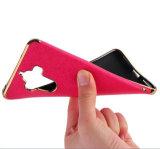 Cubierta de galvanizado de cuero para Huawei Mate 9 Honor X6