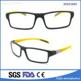 Lunettes Tr90 colorées de pleins bâtis optiques avec la FDA de la CE