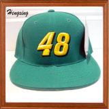 Tampões lisos do Snapback dos chapéus do Snapback da forma feita sob encomenda