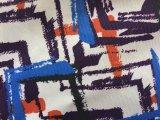 100% tessuto stampato poliestere con rivestito
