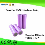 Fornitori ricaricabili della batteria della batteria 18650 3.7V 2500mAh TR 18650 dello ione del Li