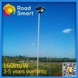 Luz solar Integrated ao ar livre do jardim da rua do diodo emissor de luz do sensor de movimento 20W