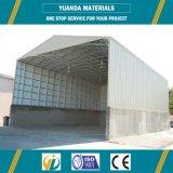 La construcción diseñó el almacén rápido de la estructura de acero de la instalación