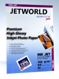Jetworld Premium luster Inkjet Photo Paper (RC Base) (PH260)