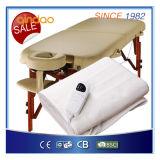 Scaldino della Tabella di massaggio con registrare regolatore per ottenere l'uso dell'ospedale