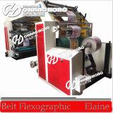 Machine d'impression flexographique de papier à grande vitesse d'argent de couleurs de la norme 8 de la CE