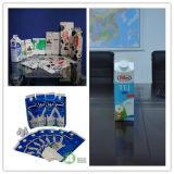 Milk fresco Yogurt Packaging Equipment para o frontão Top Cartons