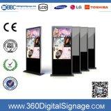 55 '' HD LCD Media Player en pantalla grande que hace publicidad de la visualización