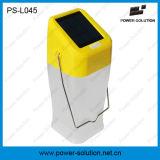 Lâmpada de acampamento ao ar livre solar portátil com garantia de 2 anos e o painel solar de Sunpower