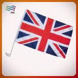 Bandierina BRITANNICA 100% dell'automobile della bandiera nazionale del poliestere (HYCF-AF038)