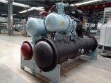 Refrigeratore di acqua raffreddato ad acqua della vite