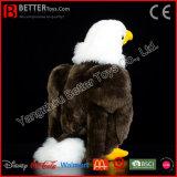 ASTM lebensechtes angefülltes Tier-kahler Adler-weiches Vogel-Plüsch-Spielzeug