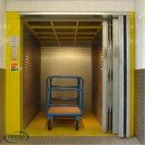 Elevador de carga grande del cargo de las mercancías del almacén de la capacidad de carga