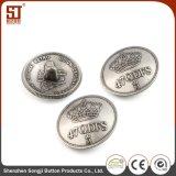 Tecla redonda do metal da pressão do indivíduo de Monocolor da alta qualidade para o revestimento