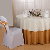 Tisch-Deckel-Jacquardwebstuhl-Tisch-Tuch der Gaststätte-100%Polyester