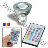De tache à télécommande de la puissance GU10 ampoule LED élevée