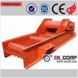 Alimentador de vibração para o minério de cobre de alimentação