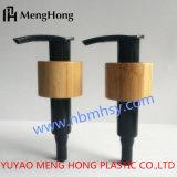 Distributeur en plastique de pompe de lotion de la pompe 24/410 de lotion avec le bambou