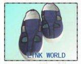 Zapato del trabajador del recinto limpio del ESD, zapatos de trabajo antiestáticos de la lona 4-Eyes