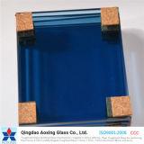 Vidro matizada/da cor flutuador para o vidro do vidro da parede/edifício
