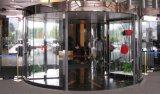 Porta giratória automática - construção da liga de alumínio