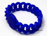 Carte sèche de poignet d'IDENTIFICATION RF de bracelet ultra-léger de silicones pour le mâle/femelle