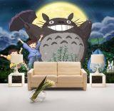 Costumbre desmontables impermeables de dibujos animados Tapetes fotográficos anime lindo para los cabritos sitio