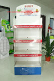 Visualización Point-of-Sale para la venta al por menor, soporte de visualización de papel, visualización de la cartulina del estallido, unidad de visualización derecha del suelo, visualización del Dumpbin