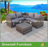 2017 New Design Wicker / Rattan Garden Sofa Outdoor Furniture