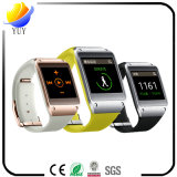 Bracelete inteligente personalizado para o podómetro do podómetro e da borracha e o relógio esperto de Bluetooth